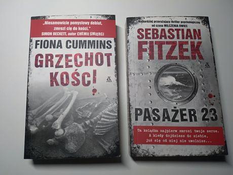 2 książki, thrillery, tanio