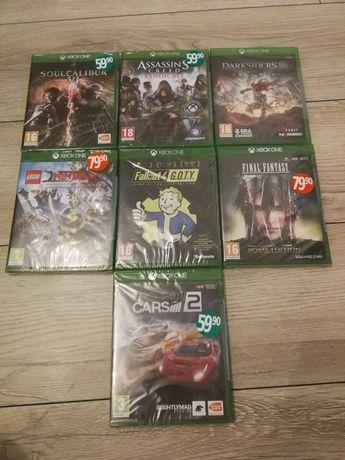 Gry Xbox one zafoliowane