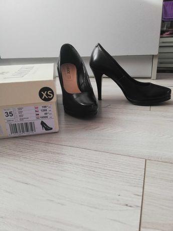 Buty szpilki damskie r.35 z naturalnej skóry. LASOCKI