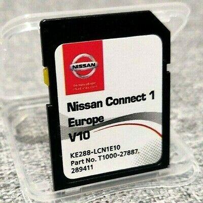 Cartao GPS Nissan Connect 1 V10 2020 europa 2020