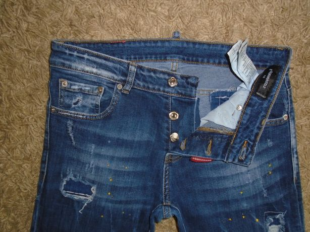 Джинсы Dsquared 2 Made in Italy W30L32.