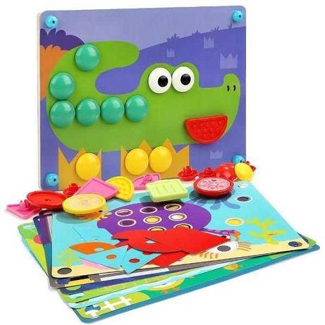 Мозаика Top Bright,крупные детали, пазл, развивающая игра, головоломка