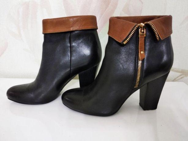 Ботинки осень, натуральная кожа