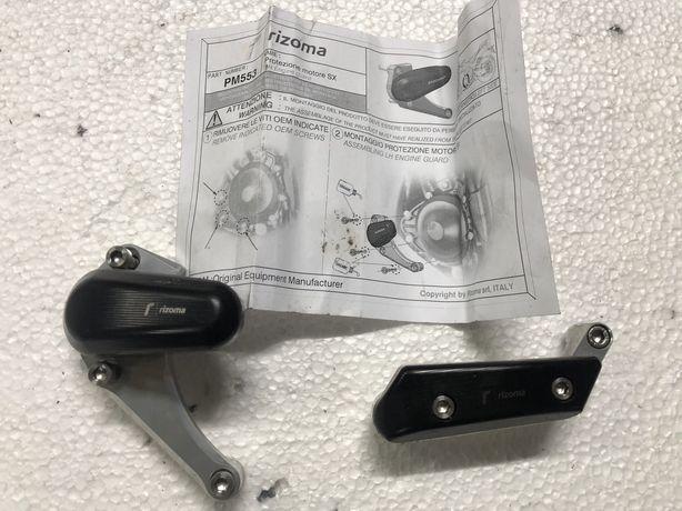 Yamaha R1 rn22 RIZOMA crash pady silnika silder