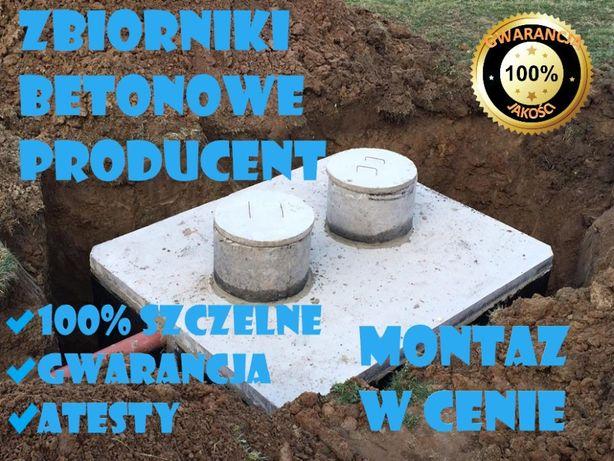 Szamba betonowe z wykopem, zbiorniki na szambo, ścieki, zbiornik Ates