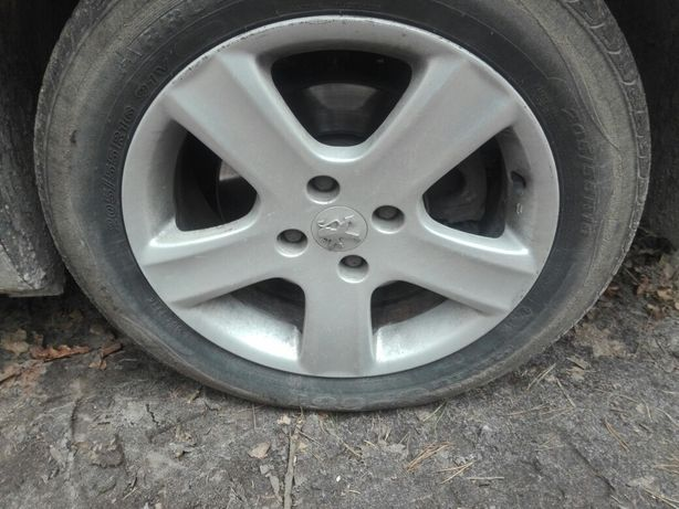 """Felgi aluminiowe Peugeot, 16"""""""