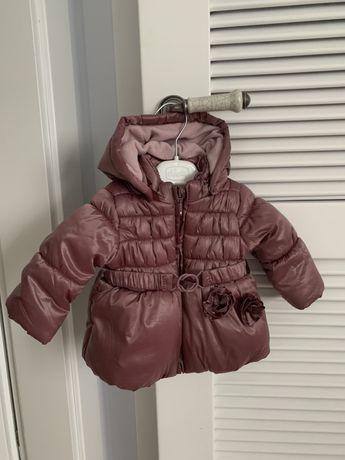 Куртка курточка теплая зимняя idexe 68 74 размер