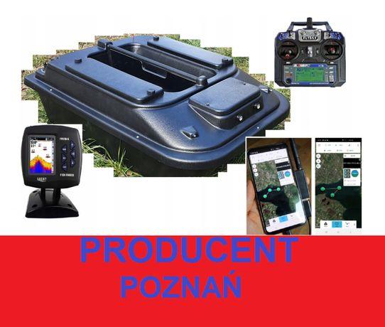 dwukomorowa ŁÓDKA ZANĘTOWA P2 70cm Echosonda + GPS X/Producent Poznań