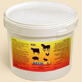 Mik 1 3 kg mieszanka witaminy dla bydła koni owiec