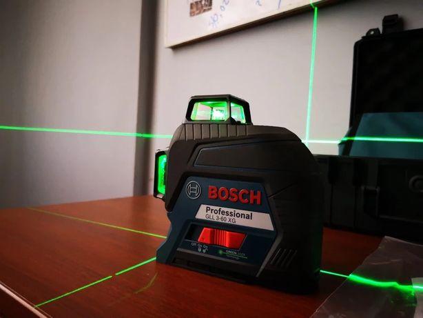 NOWY Bosch Laser GLL 3-60 XG Zielony STATYW Walizka Gwarancja GRATIS