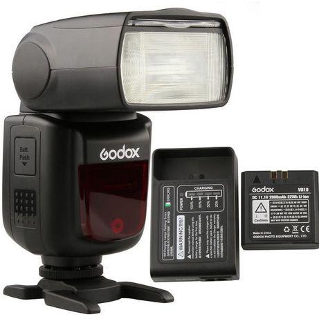 Вспышка Godox V860II-N (под Nikon)