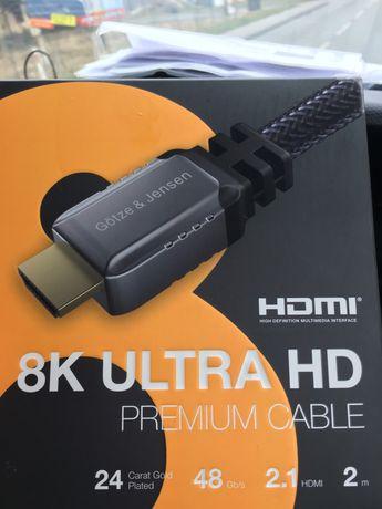 Kabel HDMI 8K 2m NOWY