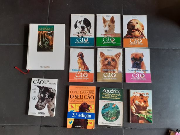 Livros de animais : conjunto 11 livros