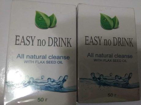 Easy no drink для борьбы с алкоголизмом  по 50 г биодобавка