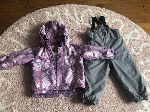 Reima tec kombinezon zimowy kurtka i spodnie rozm 98 (104)