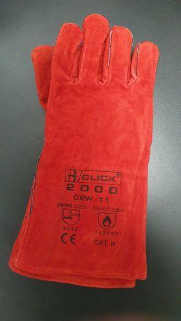 rękawice ochronne, Rękawice do Spawania CLICK 2000,  2 pary rozmiar 11