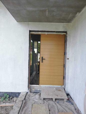 Drzwi dwuskrzydłowe Barański DB 603 z montażem z dostawką