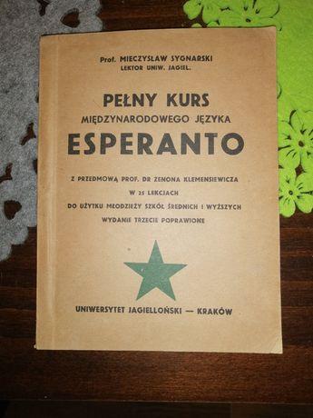 Esperanto - pełny kurs języka.