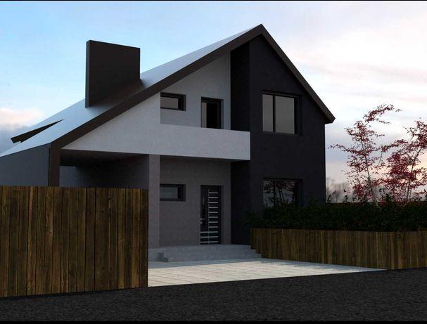 Нові Петрівці,  КМ Балатон, новий будинок 150 кв.м