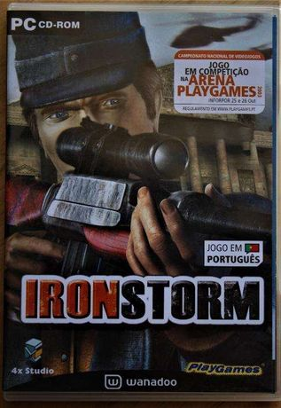 Jogos PC - IRON STORM, duplo, como novo
