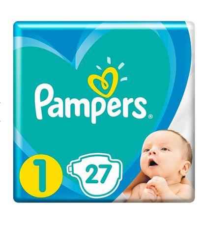 Подгузники Pampers Active Baby розмір 1, 2-5 кг, 27 шт