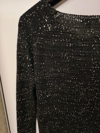 Sweter amisu cekiny czarny