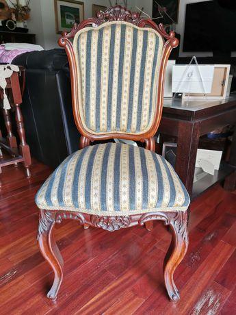 Cadeiras, Cadeirões e Canapé Românticos