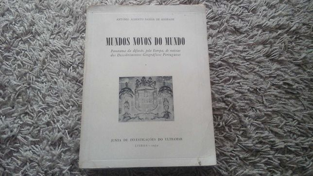 Mundos Novos do Mundo 1972 António Alberto Banha de Andrade
