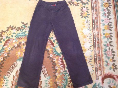 Флисовые штаны на мальчика подростка Reima, размер 146