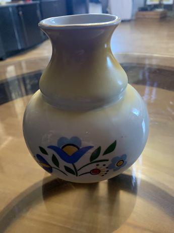 Wazonik ze wzorem kaszubskim Porcelana Lubiana