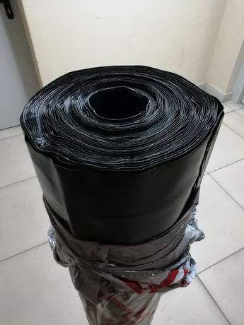 Folia Budowlana Gruba PE Izolacyjna 6 m x 25 m 0.5 mm 0,5 Izo-v Atest