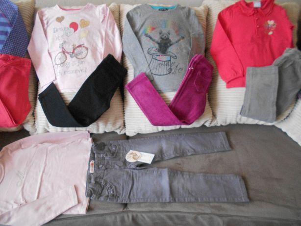 Bluzeczki leginsy spodenki Coccodrillo Cool Club zestaw 104