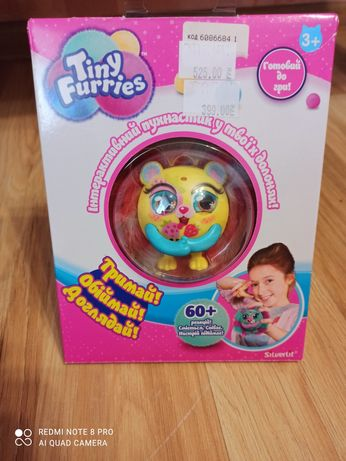 Интерактивная игрушка ёжик