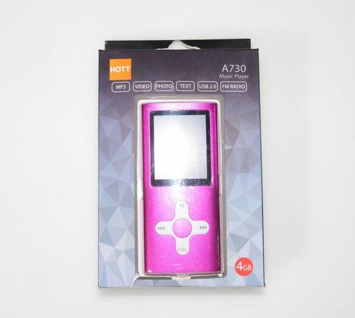 Leitor MP3/MP4 A730 Music Player com 4GB Novo e Selado