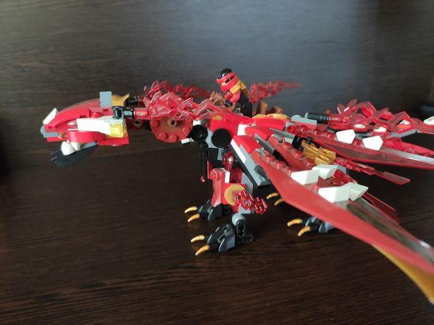 Большой Лего дракон Кая