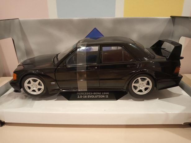 Mercedes 190 Evo 2 skala 1: 18 solido