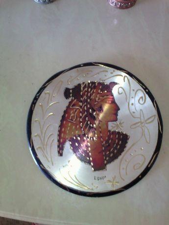 Продам настенную тарелку из Египта