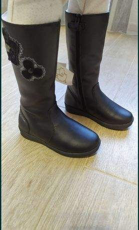Сапоги зимние Garvalin, натуральная кожа, сапожки тёплые, ботинки