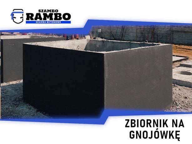 Zbiornik Betonowy 9m3 Na Gnojówkę Wodę Deszczówkę Szambo Betonowe