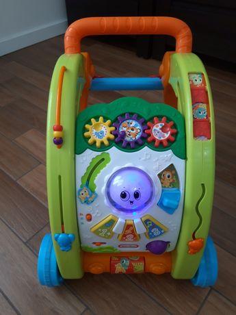 Chodzik, stół aktywności, pchacz Little Tikes 3w1