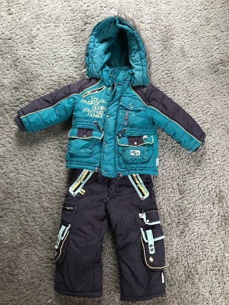 Kombinezon dziecięcy, spodnie narciarskie - Wójcik