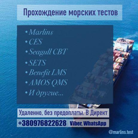 Помощь в сдаче Marlins, CES, Seagull CBT и др.