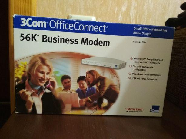 Модем 56 К Business modem (3 com OfficeConnect)