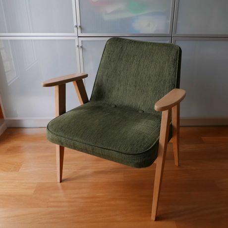 Fotele PRL Chierowski 366 po renowacji