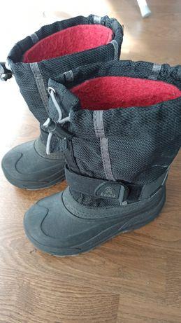 Сапоги зимние, черевики, чоботи Kamik 19см