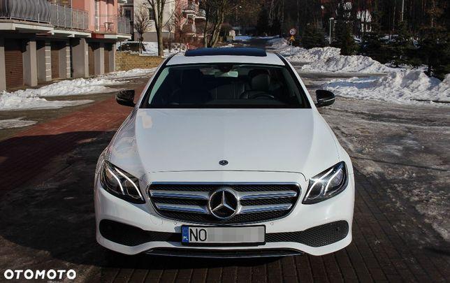 Mercedes-Benz Klasa E W213 rocznik 2018 Automat 9biegów Serwisowany i zadbany
