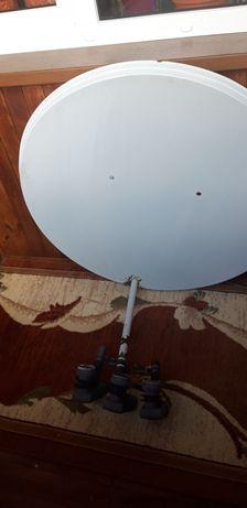 Спутнікова антена з тюнером