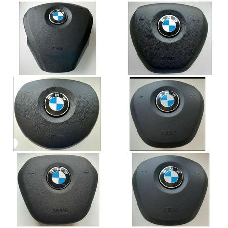 Кришка муляж обманка в руль подушка безпеки БМВ BMW X1 X2 X3 X5 X6