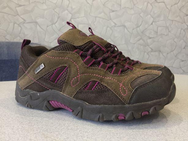 Ботинки 34,5 р 22 см КОЖА ЗАМШ Mountain на весну теплые кроссовки