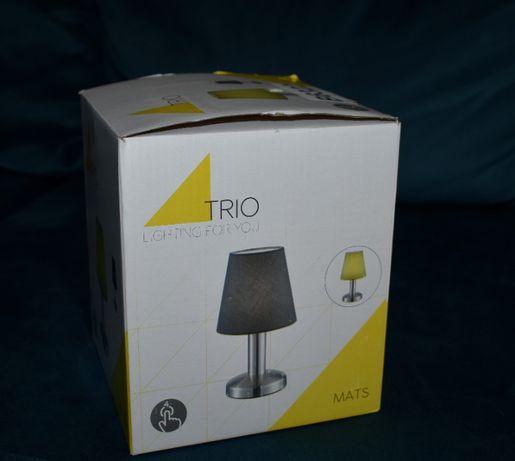 Lampka nocna biurkowa Tio Mats włączana dotykiem 3 poziomy jasności